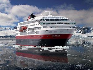MS Fram, Entdeckerschiff der Hurtigruten