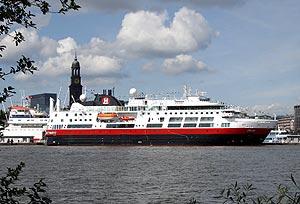 MS Fram, Hamburg
